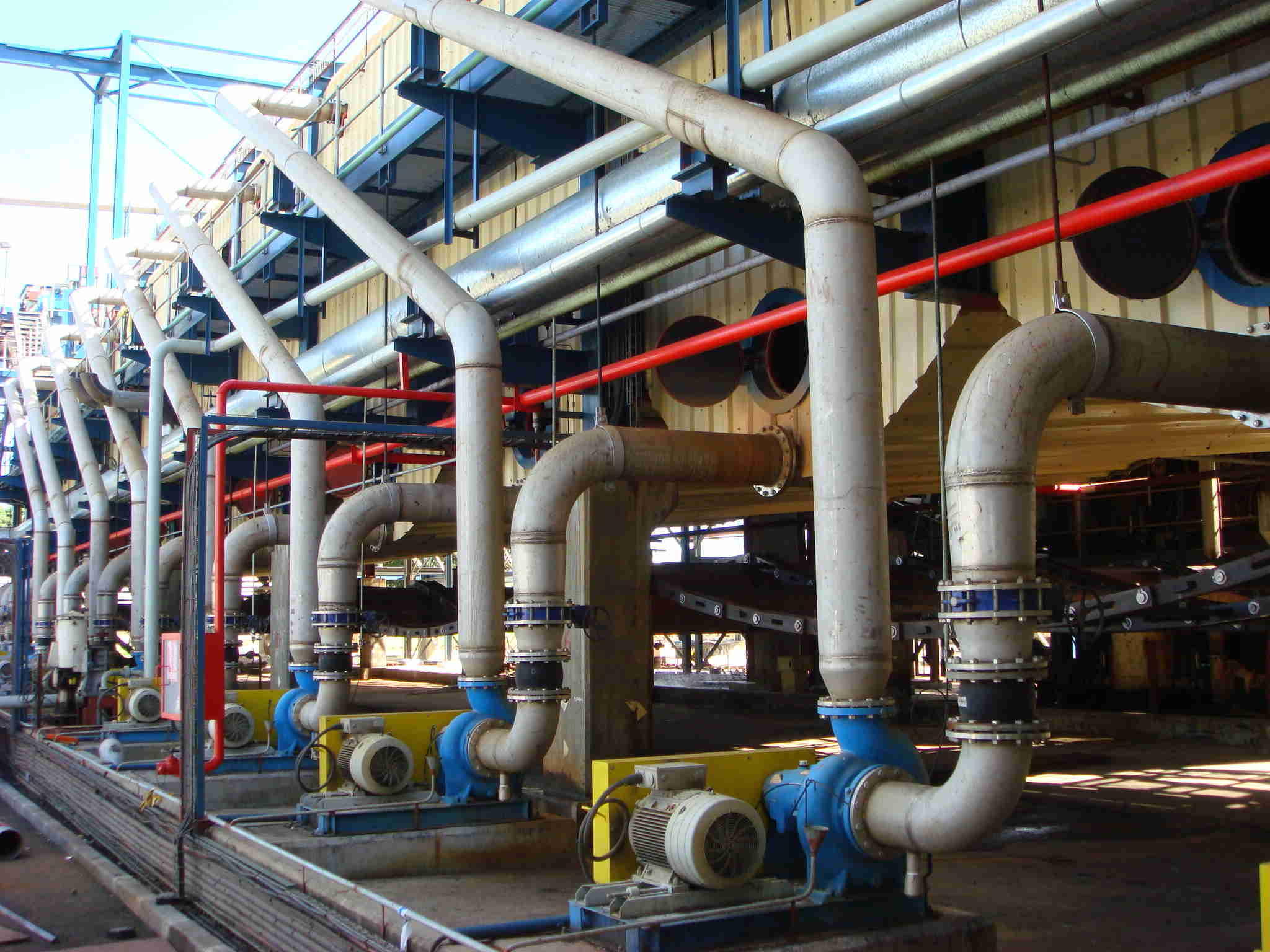 Piping Works Process Pipeline Works Sugar Pipeline