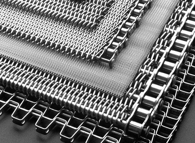 Metal Wire Suppliers : Steel wire mesh conveyor belt